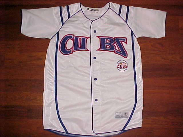 True Fan Series MLB NL Central Chicago Cubs Boys Blue White Baseball Jersey  #TrueFan #ChicagoCubs