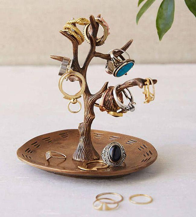 25 Beautiful Jewelry Tree Holders Jewelry Tree Ring Holder Wedding Jewelry