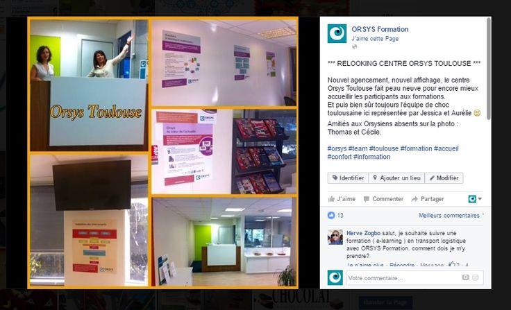 Qualité de vie au travail #QVT Espaces de travail, locaux - Toulouse - Découvrez nos offres d'emploi : http://www.orsys.fr/?mode=recrutement