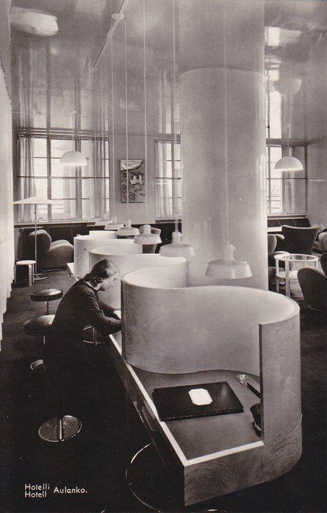 Hotelli Aulanko, Hämeenlinna, Märta Blomstedt/Matti Lampén, 1937–38