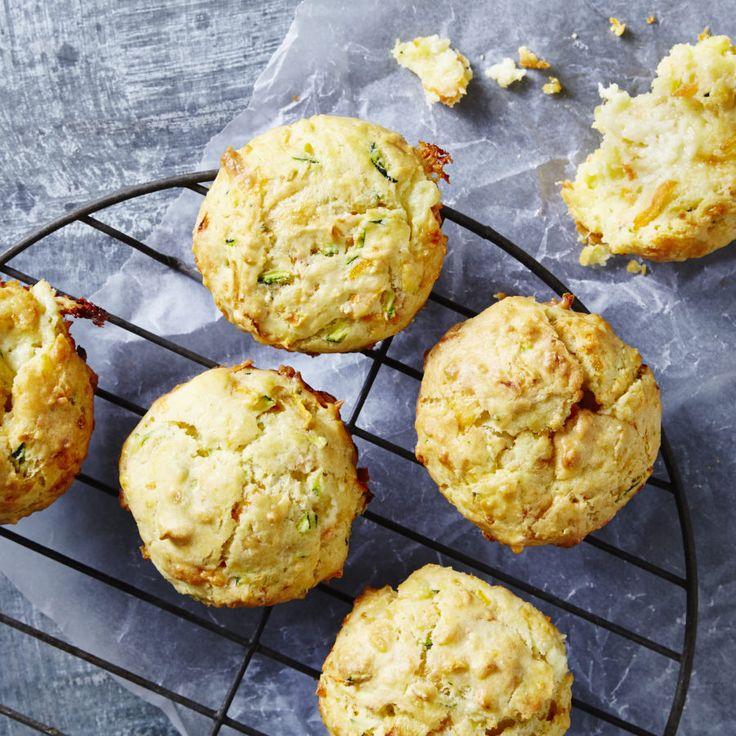 Cheesy Garlic Bread Muffins. – I Quit Sugar