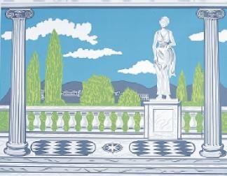 Classical Garden Mural
