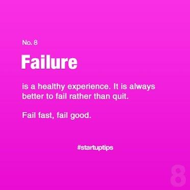 Start-Up Tips no. 8 Failure