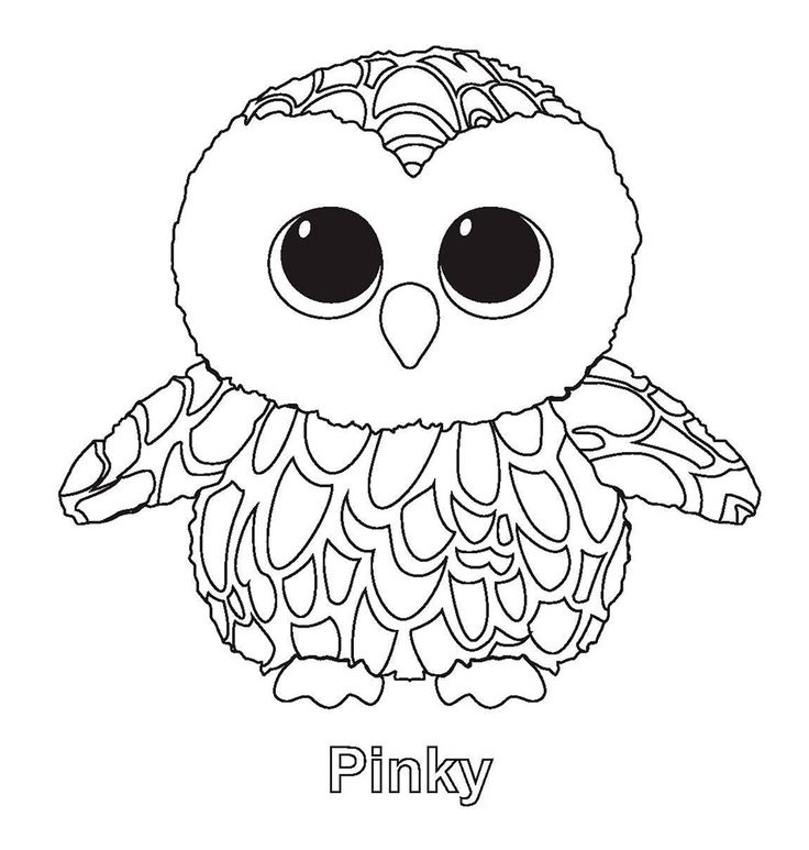 smitten beanie boo coloring pages printable and coloring book to print for free find more coloring pages online for kids and adults of smitten beanie boo - Beanie Boo Coloring Pages