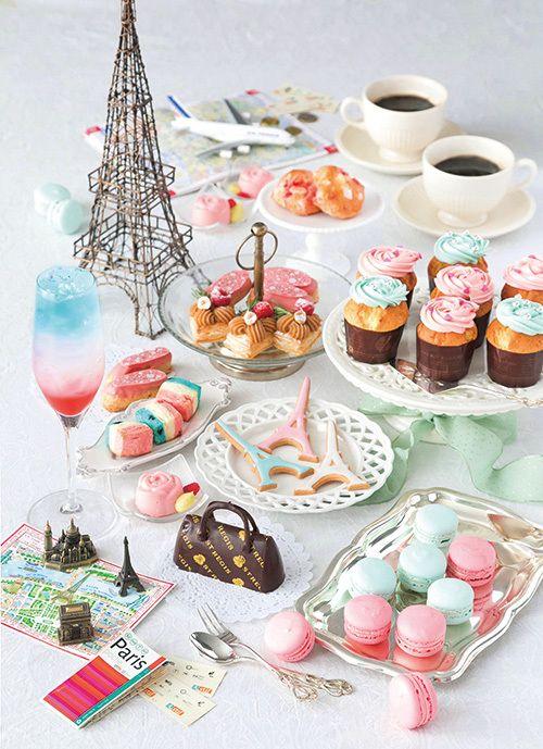 「パリジェンヌ」がテーマのデザートブッフェ、セント レジス ホテル大阪で - コスメ風のスイーツなど   ファッションプレス