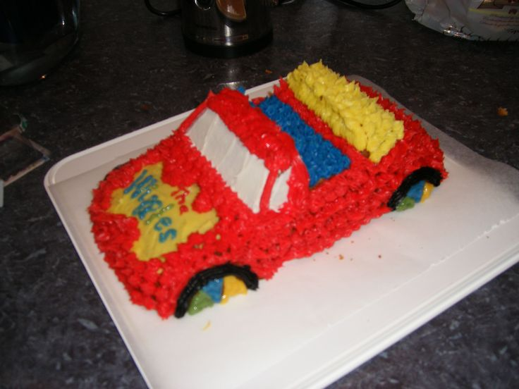 The Wiggles Car for 2yo.  2009