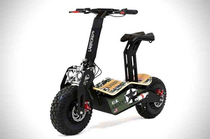 Velocifero MAD : Le scooter électrique tout terrain - #Gear - Visit the website to see all photos http://www.arkko.fr/velocifero-mad-scooter-electrique/