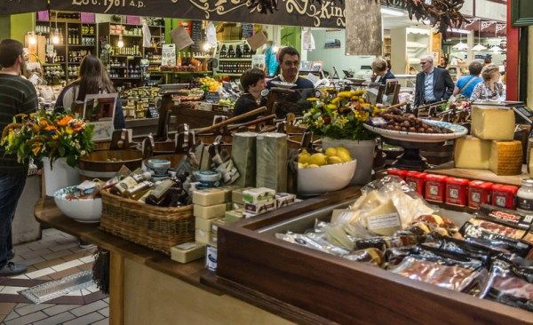 Local food at Cork English Market. If you are planning on visiting Ireland make sure to check out all these amazing places and see for yourself how unique Ireland is