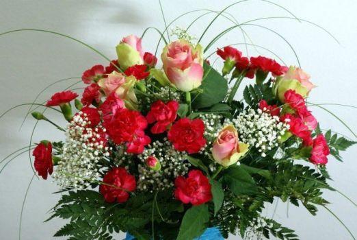 květinová dekorace ...floral decoration... (77 pieces)