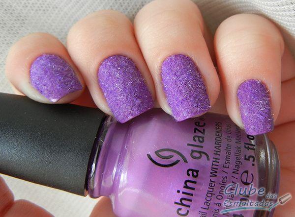 Plush nails! :3 (from Clube das Esmaltadas)