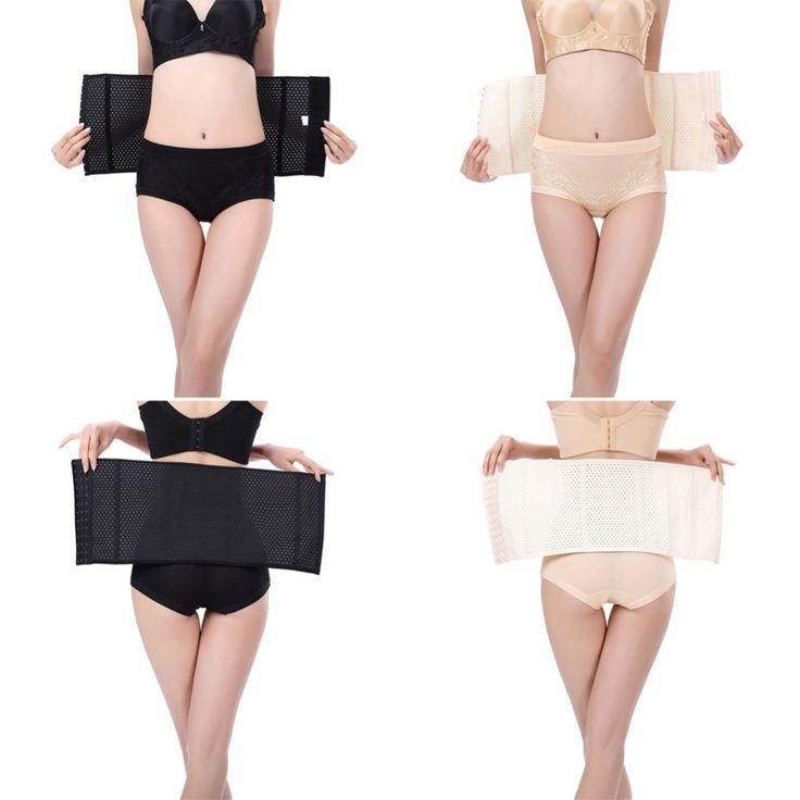 Hot Body Shapers Women Latex Rubber Waist Trainer Cincher Shapewear Corset 2017