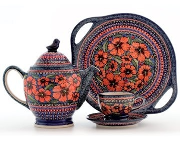 Polish Pottery - love this pattern!  sc 1 st  Pinterest : polish dinnerware sets - Pezcame.Com