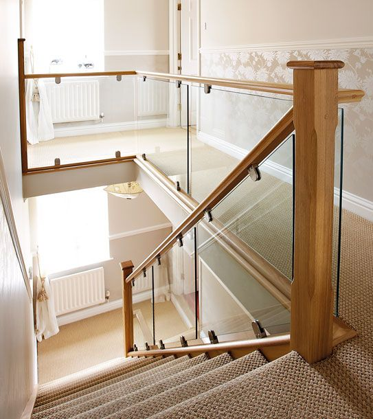 Oak and Glass Staircases - Neville Johnson Staircases