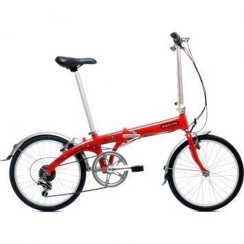 Bicicleta Dobrável Dahon Eco C7 Vermelho – Dahon - http://batecabeca.com.br/bicicleta-dobravel-dahon-eco-c7-vermelho-dahon.html