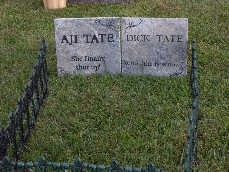 funny halloween tombstones sayings - Funny Halloween Tombstone Names