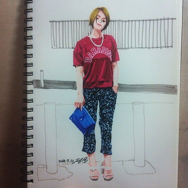 Today's Inspiration - Kim Jungyoun