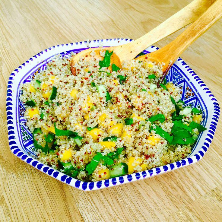 Gastrecept: zomerse quinoasalade van Sanne