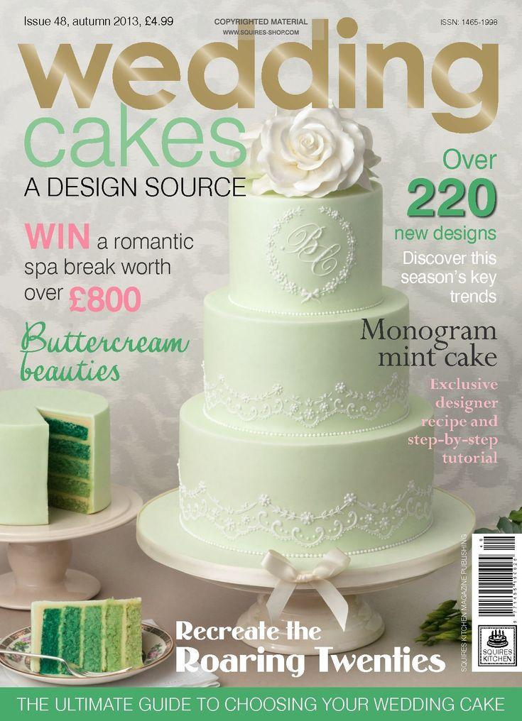 Wedding Cakes Magazine Autumn 2013   Squires Kitchen Shop ...