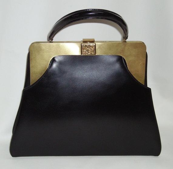 50s Architectural Style Mod Handbag