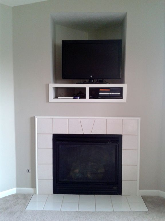 Electric Fireplace Surround Diy For The Home Pinterest