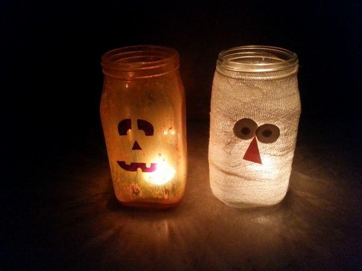 Halloween craft in school