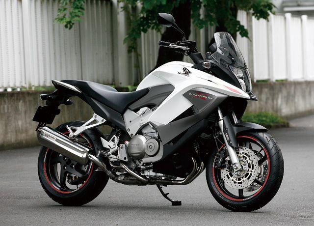 Honda VFR 800 X (Crossrunner) 2011. I really like this bike.