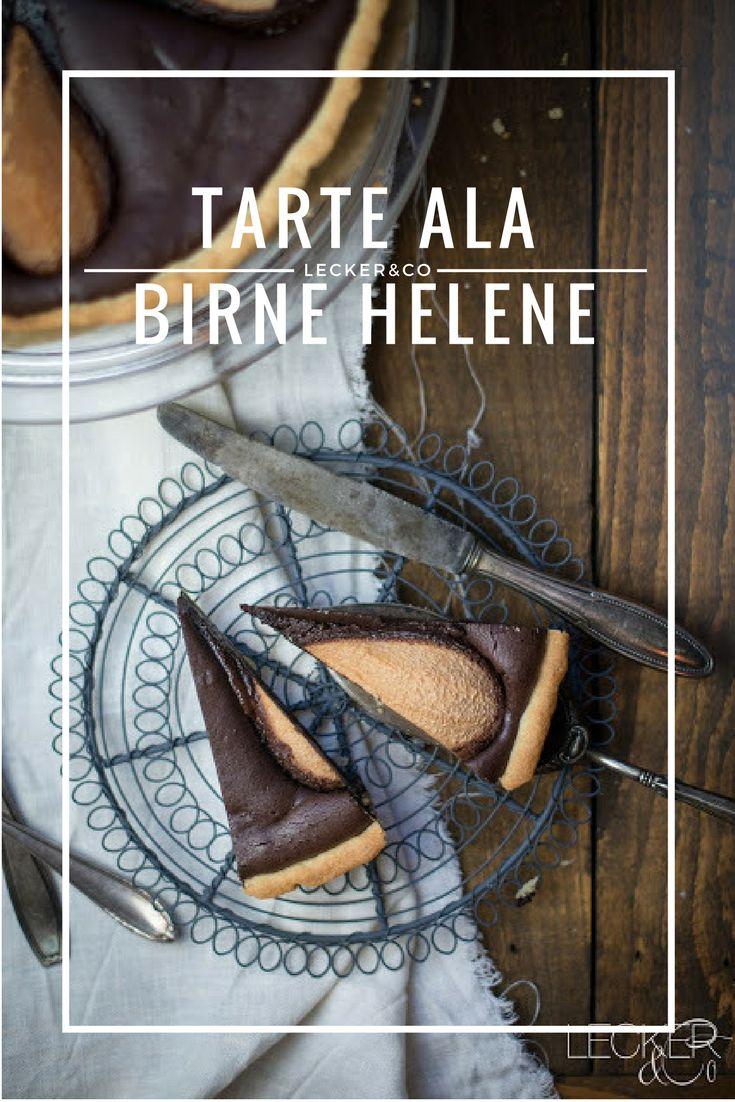 Tarte ala Birne Helene | Schokoladentarte mit Birnen