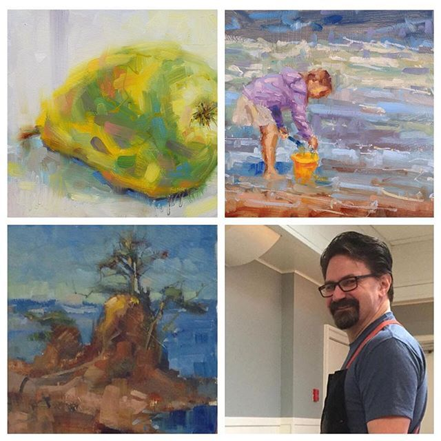 The very talented Michael King  @michaelking.ca has joined the 100 Braid St community!  He will be starting out with us a teacher (so watch for upcoming #fineart and #pleinair painting classes) and hopes to join us as a resident artist.  Many know him for his video art series on @YouTube and his sold-out demos @opusartsupplies  Michael is a contemporary Canadian painter, works primarily in oils and is known for his soft plein air landscapes, modern still lifes, and portraiture.  King's work…