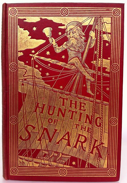 The Hunting of the Snark by Lewis Carroll | Beautiful Antique Books