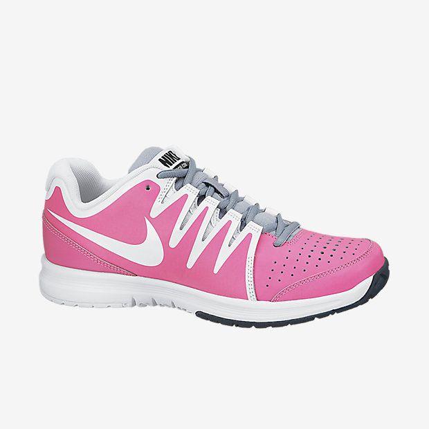Nike Tennis Shoes in Pink Pow! Vapor Court. LOVE