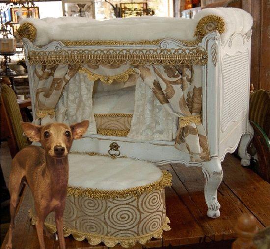 Unique Fancy Designer Dog Houses | Designer Dog Beds-Celebrity Dog Beds-Pet Accessories and Furnishings ...