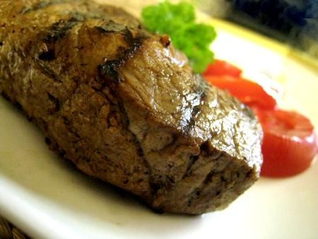DELICIOUS steak marinade. I only let the steak marinate for 30 minutes and it tasted amazing.