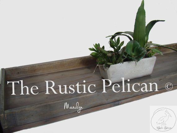 Vasca da bagno vintage vassoio-Caddy Vasca da di RusticPelican