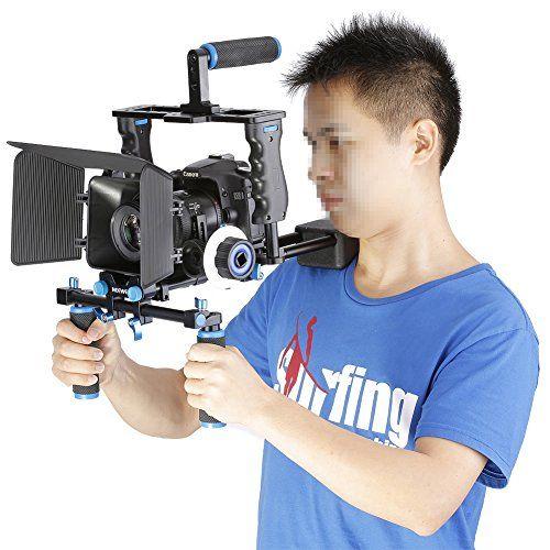 Diy Dslr Camera Rig: Neewer® Aluminum Film Movie Kit System Rig For Canon/Nikon