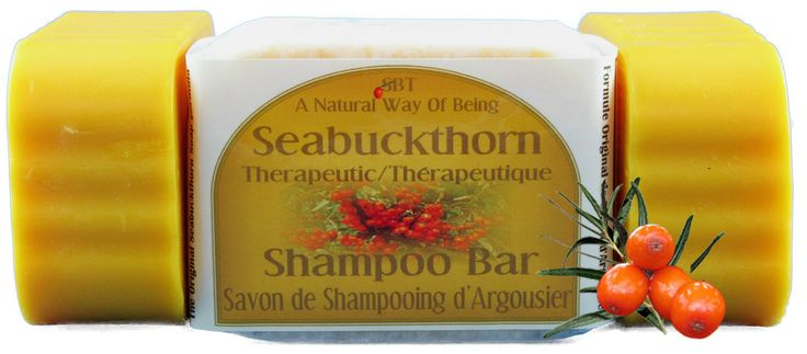 SBT Seabuckthorn Therapeutic Shampoo Bar is the perfect all-in-one body and hair bar. Ordered by hair regeneration centres in bulk, the SBT Seabuckthorn Shampoo Bar contains generous amounts of SBT Seabuckthorn Oils, which have long been known to promote new hair growth and diminish hair loss. SLS free, DEA free, Paraben free. $13.95