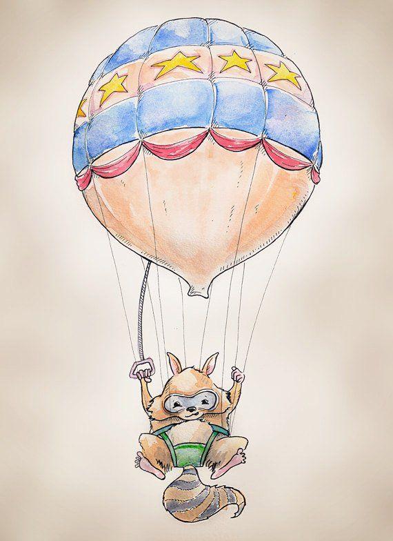 рисунок на воздушном шаре своими руками было выпущено