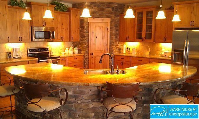 Corner kitchen pantry with island visit for Kitchen design visit