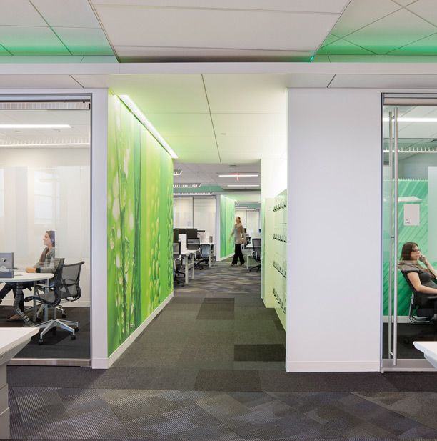 1000 Images About Office Interiors Corridor On Pinterest