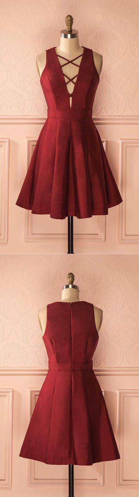 short homecoming dress,homeocming dresses,2017 homecoming dress, red homecoming dress