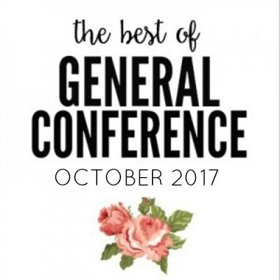 The BEST quotes from LDS General Conference October 2017 with FREE Printables for you to share with your friends, print in your homes or save for later!