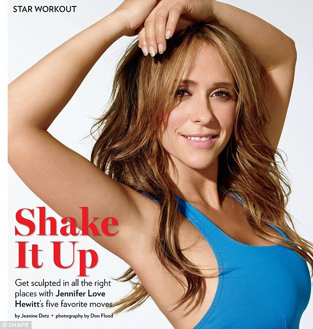 Hourglass: Jennifer can show you have to get a toned figure, even if you're curvy