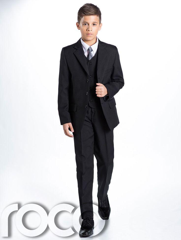 Boys Navy Suit, Boys Black Suit, Page Boy Suits, Prom Suits, Boys Wedding Suit