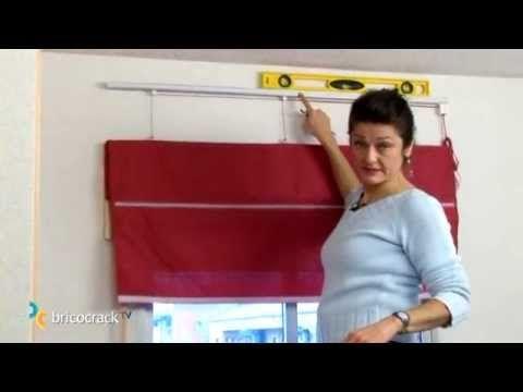 Colgar un estor y cambiar el mando de lado (BricocrackTV) para cortinas plegables