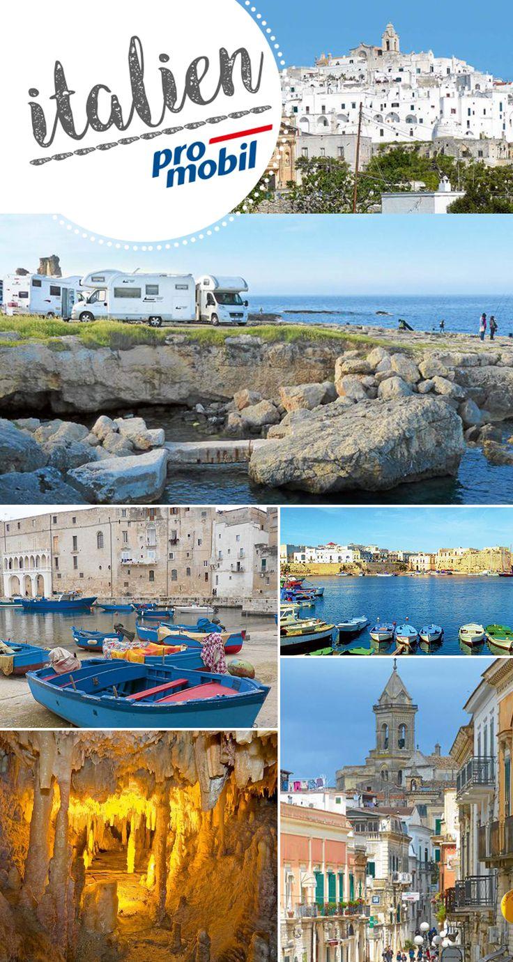 #Wohnmobil-Tour durch #Süditalien  #Apulien in seiner ganzen Schönheit erleben  Sie möchten Apulien mal ganz ohne Trubel entdecken? Dann folgen Sie uns auf eine unvergessliche #Wohnmobil-Tour zu besonderen Orten, die vom Tourismusstrom bislang nahezu verschont wurden.