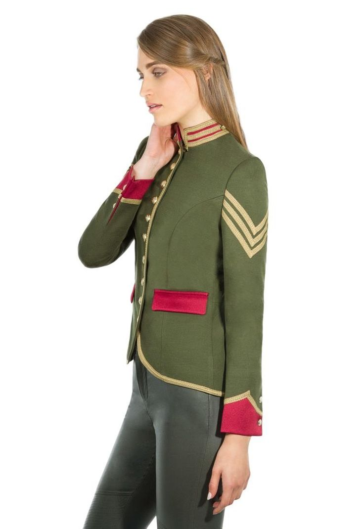 chaqueta militar mujer - BLAZER - THE EXTREME COLLECTION