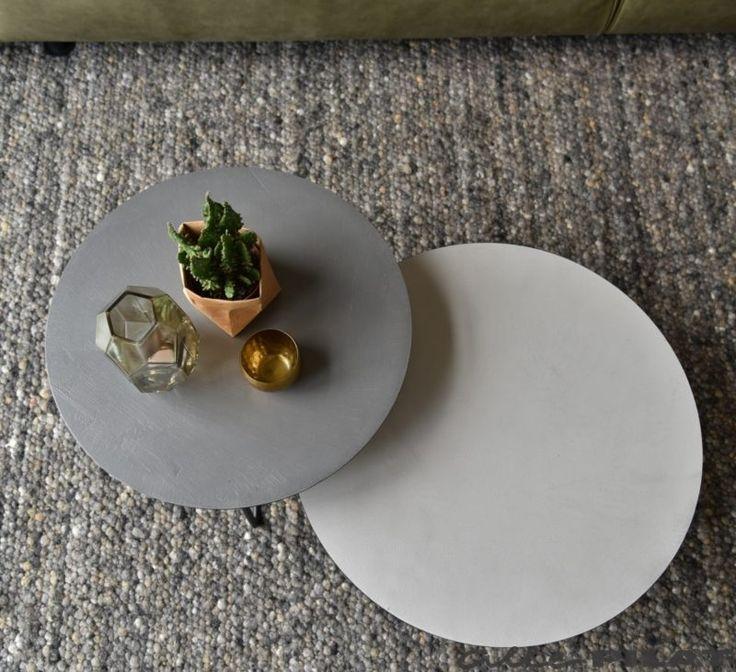 25+ beste idee u00ebn over Ronde salontafels op Pinterest   Ronde salontafel, Woonkamerstijlen en
