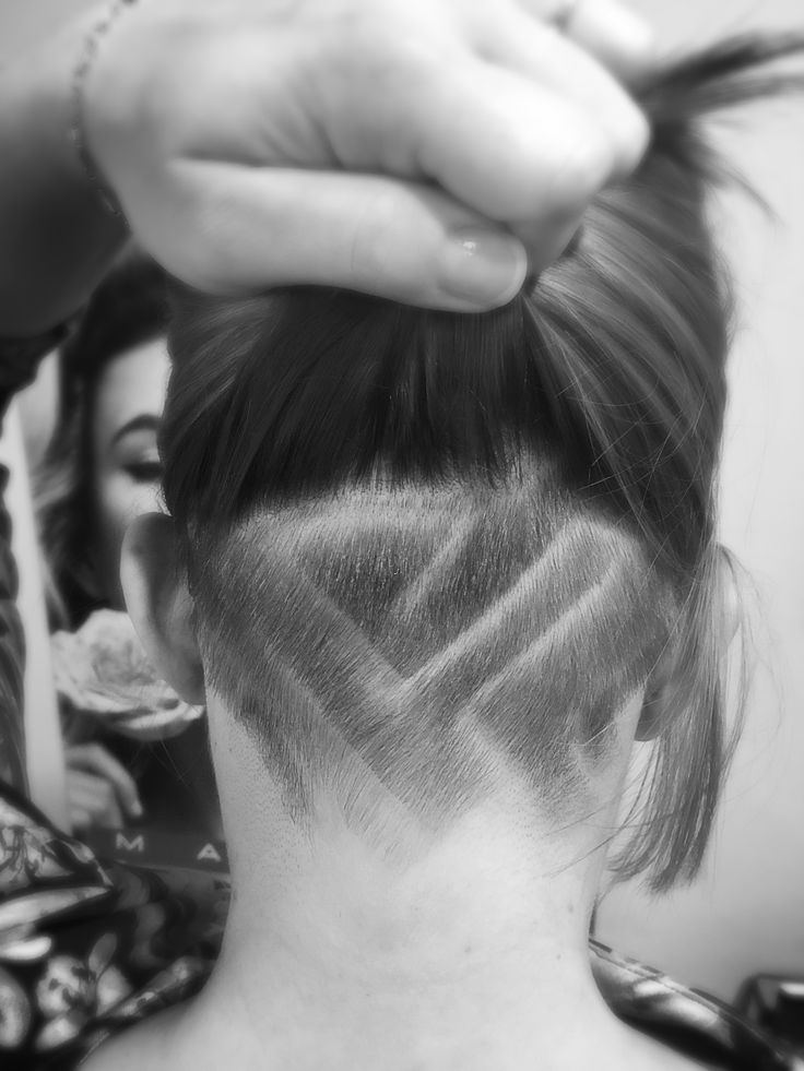 #UnderCut #hairTattoo #ShortCut #patkospy