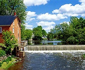 Cornell Mill, Eastern Townships, Quebec, Canada