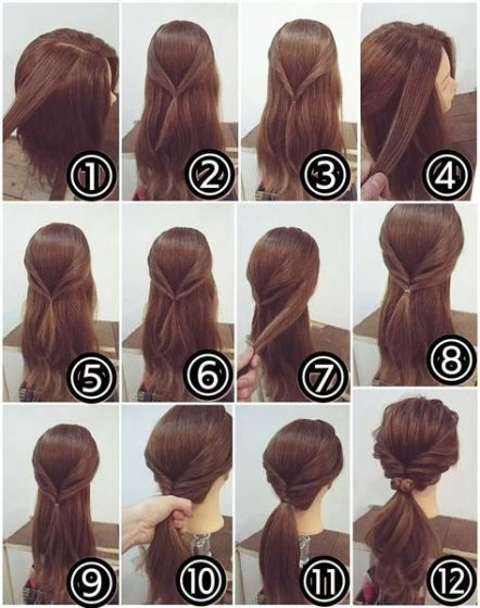 May 4, 2019 - Hair wedding ponytail easy updo 63+ Ideas