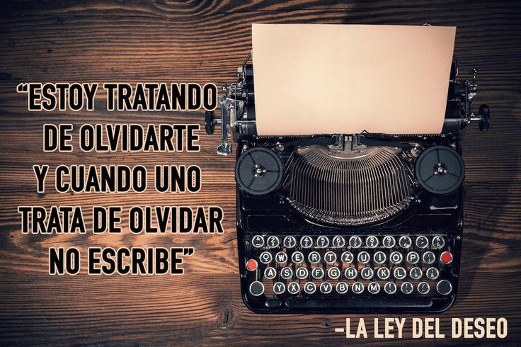 1. La Ley del Deseo (1987).   40 Veces que Pedro Almodóvar fue el guionista perfecto de nuestras vidas